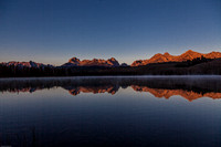 Sawtooth Range Little Redfish Lake Sunrise 5