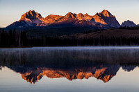 Sawtooth Range Little Redfish Lake Sunrise 4
